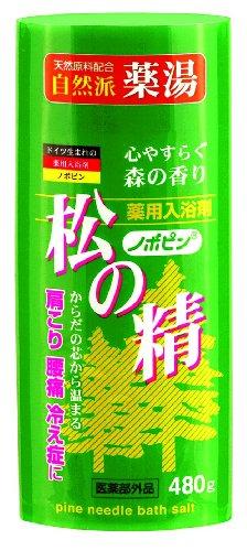 ノボピン 薬湯 松の精 480g