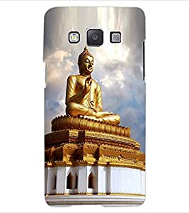 ColourCraft Lord Buddha Design Back Case Cover for SAMSUNG GALAXY E5