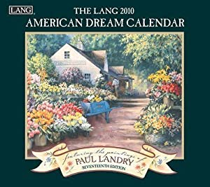 American Dream by Paul Landry Lang 2010 Wall Calendar
