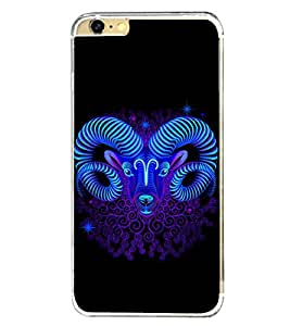 Aries Sign 2D Hard Polycarbonate Designer Back Case Cover for Apple iPhone 6s Plus :: Apple iPhone 6s+