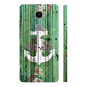 Huawei Mate S Achor Art designer mobile hard shell case by Enthopia