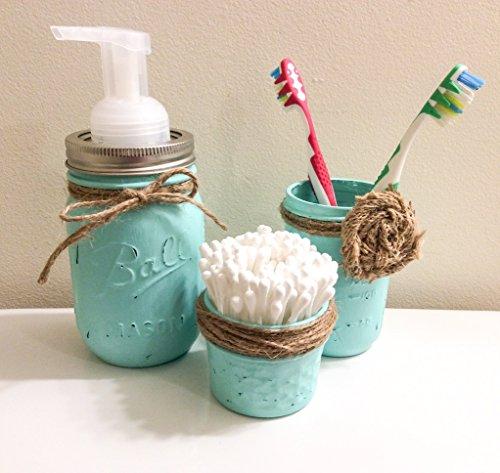 three-piece-set-rustic-mason-jar-bathroom-storage-mason-jar-organizer-bathroom-accessories-soap