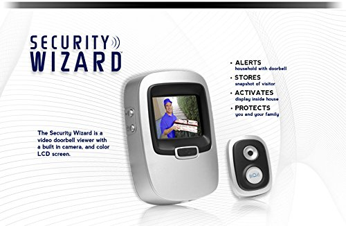 Security Wizard Swvd01 Recording Peep Hole Viewer With