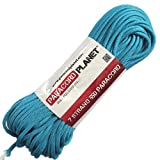 Paracord Planet 100 550lb Type III Neon Turquoise Paracord