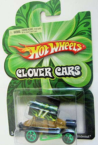 St Paddys Day 2009 Hot Wheels Clover Car Slideout - 1