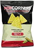 Medora Snacks Popcorners Popped Corn Chips, Kettle, 1.1-Ounce (Pack of 40)
