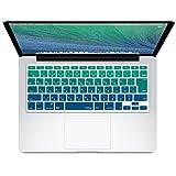 MS factory MacBook Pro 13 15 キーボード カバー 日本語 JIS配列 pro13 pro15 インチ キーボードカバー RMC series Mavericks グラデーション カラー RMC-KEY-PRMVC