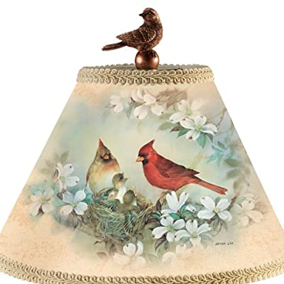 Lena Liu Bird Art Tabletop Lamp - By The Bradford Exchange
