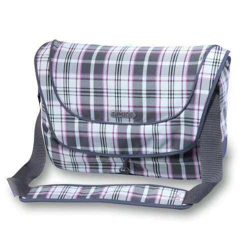 DAKINE Girls Laptop Messenger Bag (Plush Plaid / Charcoal)