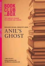 Bookclub In A Box Discusses The Novel Anil's Ghost by Michael Ondaatje