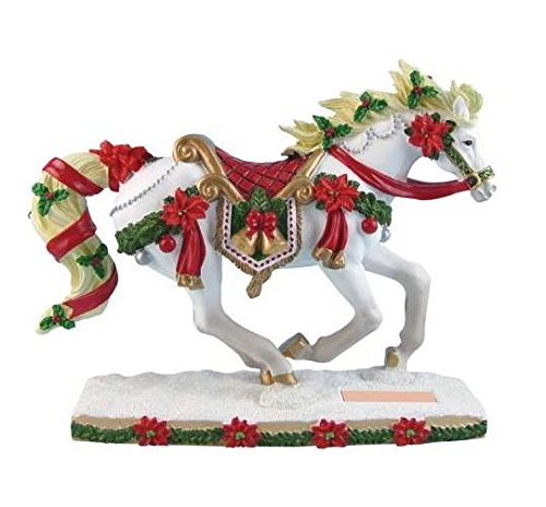 Westland Giftware Horse of A Different Color Resin Figurine, Christmas Carousel