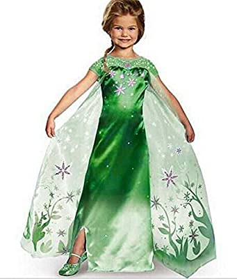 Eyekepper Little Girl's Elsa Dress Birthday Party Cosply Costume