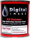 Projector Screen Paint - High Definition - EZ Screen White - Quart