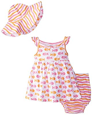Gerber Baby and Little Girls' Sundress and Hat Set by Gerber Children's Apparel that we recomend individually.