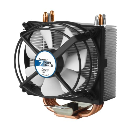 ARCTIC Freezer 7 Pro Rev. 2, CPU Cooler-Intel and AMD, Multi-Directional Mount, 92mm PWM Fan