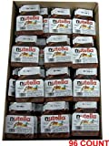 Nutella Hazelnut Chocolate Spread 96 Count .63oz