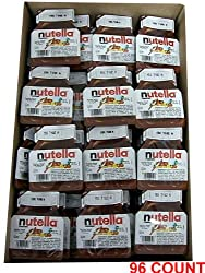 Nutella - Hazelnut Spread, CASE, (96 x 18g(0.6oz)) 96 COUNT