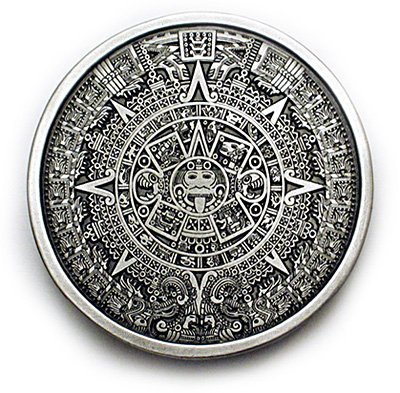 Buy AZTEC CALENDAR Belt Buckle Mayan Mexico Toltec Design