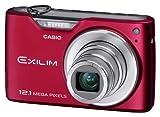 CASIO デジタルカメラ EXILIM EX-Z450 レッド EX-Z450RD