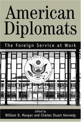美国外交官: 外交服务工作