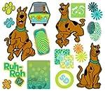 Scooby Doo Prints Self-Stick Wall Acc...