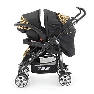 BabyStyle TS2 Travel System Baby Pushchair Pram (Leopard ...