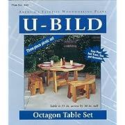 Octagon Picnic Table Set Plans