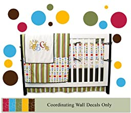 340 Coordinating Polka Dots with Dr. Seuss ABC Nursery Bedding