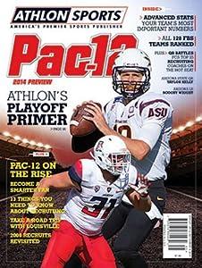 Buy Athlon Sports 2014 College Football Pac-12 Preview Magazine- Arizona Wildcats Arizona State Sun Devils Cover by Athlon Sports