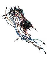 65pcs Câble Fil Connection Breadboard Plaque Platine d'Essai PCB Test Circuit