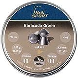 Haendler & Natermann Barracuda Green .22-Caliber 12.65 Grain Domed Lead-Free Pellets (200 Count)
