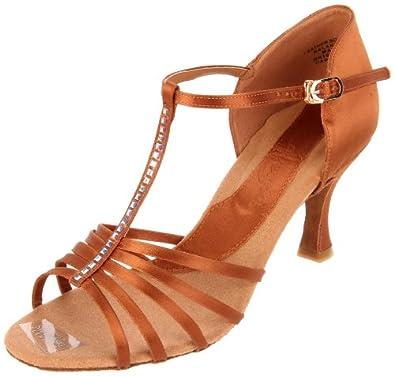 Buy Capezio Ladies Crystal Danielle 2.5 Inch Dance Shoe by Capezio