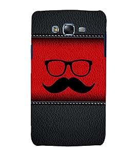 printtech Leather Pattern Funky Back Case Cover for Samsung Galaxy E5 / Samsung Galaxy E5 E500F