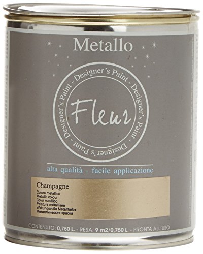 fleur-paint-13241-pintura-mineral-metalizada-base-agua-750-ml-color-champagne