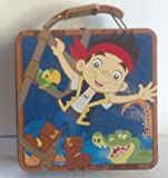Disney's Jake & the Never Land Pirates Tin Lunch Box ~ small (6 x 6 x 3)
