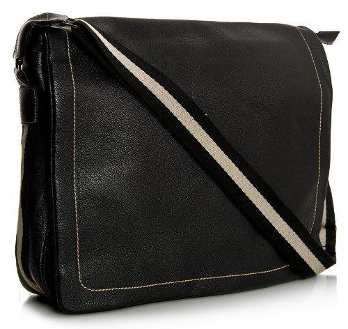 big-handbag-shop-unisex-faux-leather-multi-pockets-shoulder-mesenger-bag-large-9015-black