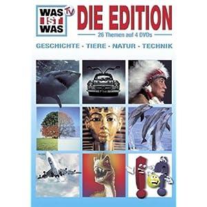 WAS IST WAS: Die Edition (Boxset, 4 DVDs)