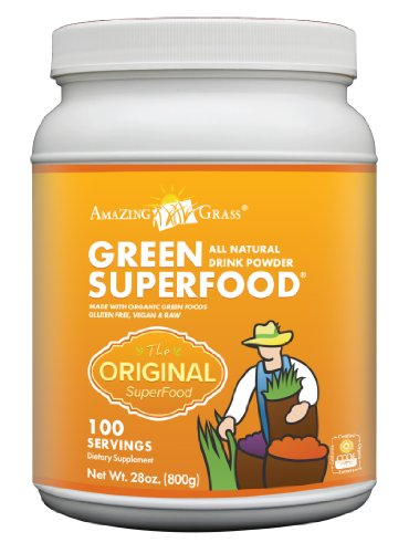Amazing Grass Green Superfood Serving, 28-Ounce Container 100