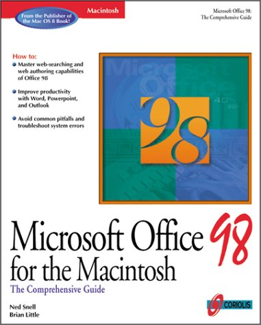 Microsoft Office 98 for Macintosh: The Comprehensive Guide