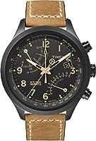 Timex T2N700 - Reloj de hombre de cuarzo negro marca RE:CRON