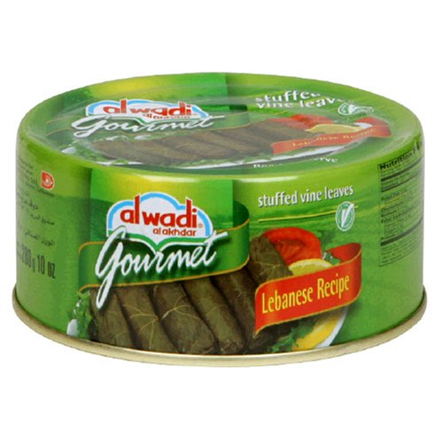 Al Wadi Gourmet Stuffed Vine Leaves , 10-Ounce Cans (Pack of 6) by Al Wadi