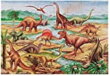 Melissa &amp; Doug Dinosaurs 48 pcs Floor Puzzle