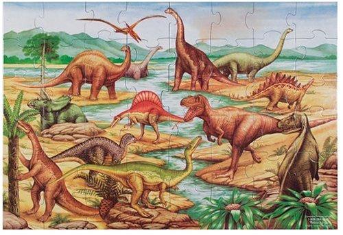 Dinosaurs 48 Piece Floor Puzzle