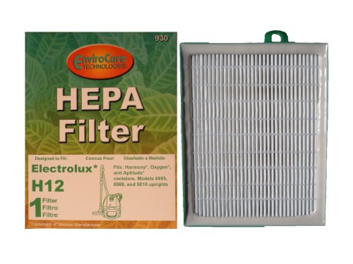 (25) Electrolux Eureka Sanitaire H12 Hf1 Upright/Canister Pleated Hepa Filter Aptitude, Harmony, Oxygen, Oxygen Ultra, Sanitaire System Pro, Eureka, Whirlwind, Cyclonic, Europa Power Team, Excalibur Home Cleaning System, H13 Sp012 H12 60286A El012W El020