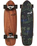 OB Five Skateboards Cruiser Skateboard - Hawaii Night, 28-Inch