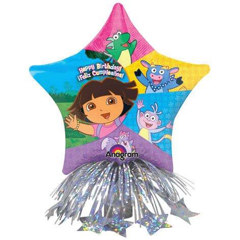 Mayflower Distributing Dora Birthday Star Balloon Centerpiece