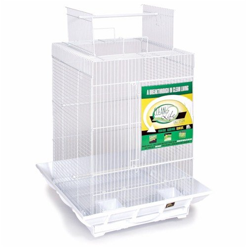 Buy Low Price Clean Life Play Top Bird Cage – White (SP851WW)