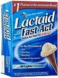 Lactaid Fast Act Lactase Enzyme Supplement, 192 Count ,Lactaid-ft