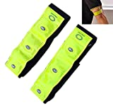 Futaba Bicycle Reflective Bands With LED Lights - One Pair