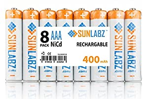 SunLabz Rechargeable Batteries